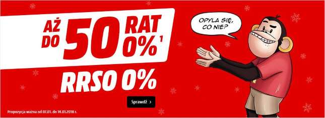 raty 0 - Media Markt - styczeń 2018